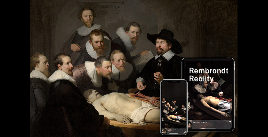 Rembrandt Reality AR app