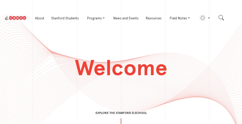Webby Award Nominee - The Stanford d.school