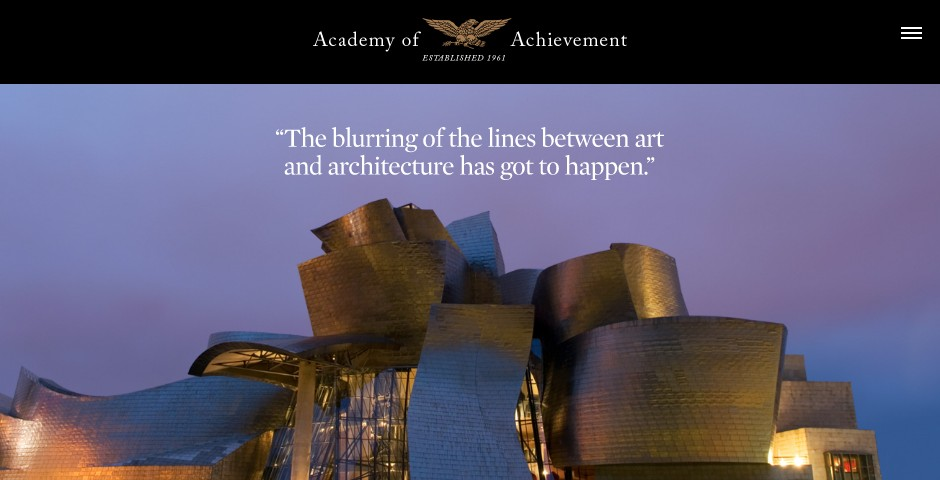 Nominee - American Academy of Achievement