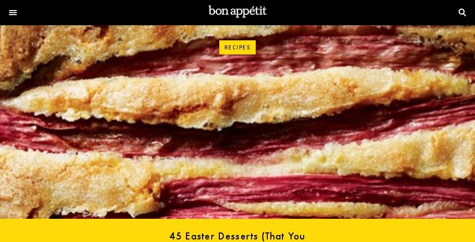 Nominee - Bon Appétit