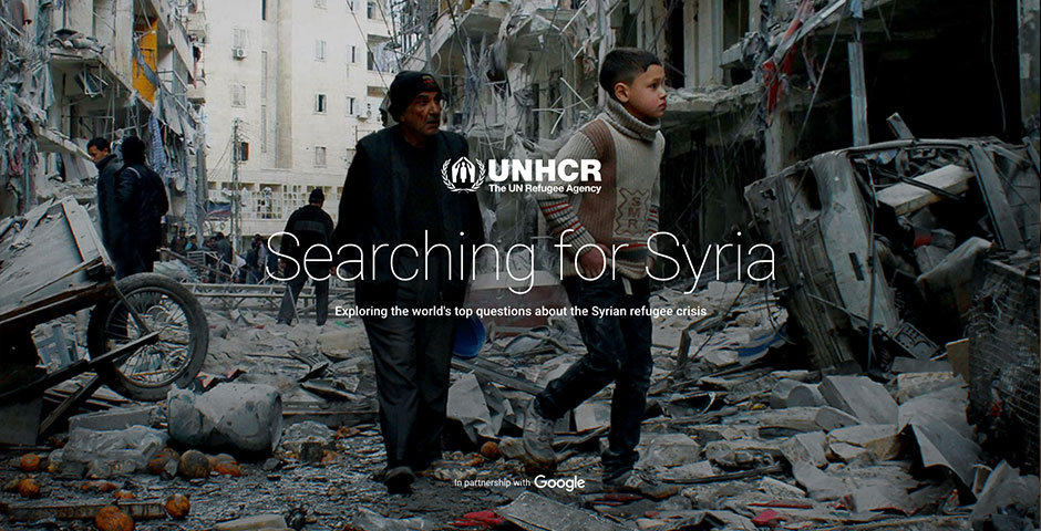 2018 Webby Winner - Searching for Syria
