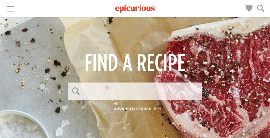 People's Voice / Webby Award Winner - Epicurious
