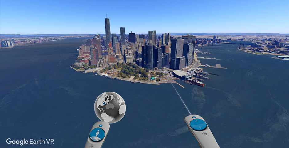 People's Voice / Webby Award Winner - Google Earth VR