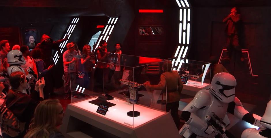 People's Voice / Webby Award Winner - Star Wars: The Last Jedi New York Comic Con Experience