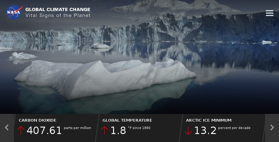 Nominee - Global Climate Change: Vital Signs of the Planet