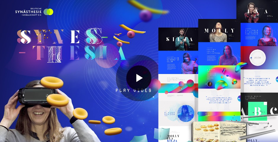 Webby Award Winner - World`s first interactive synesthetic experience