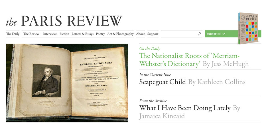 Nominee - The Paris Review