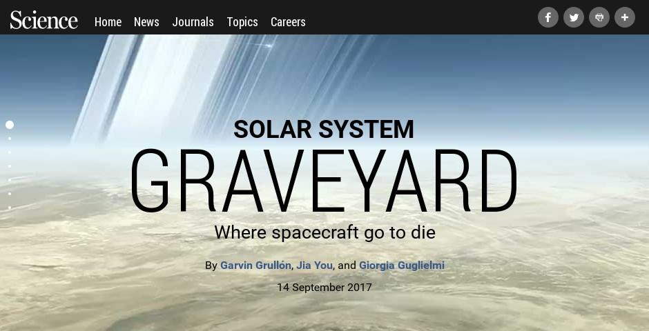 Nominee - Solar System Graveyard