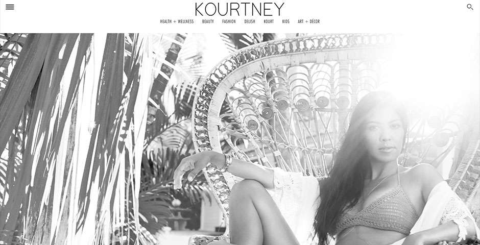 People's Voice - Kourtney Kardashian