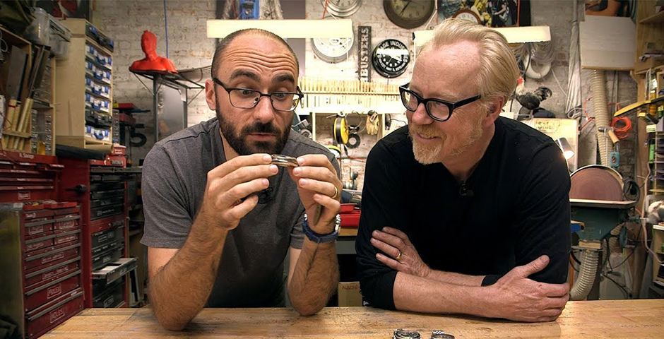 People's Voice - Adam Savage and Vsauce's Michael Stevens Build a Kendama!