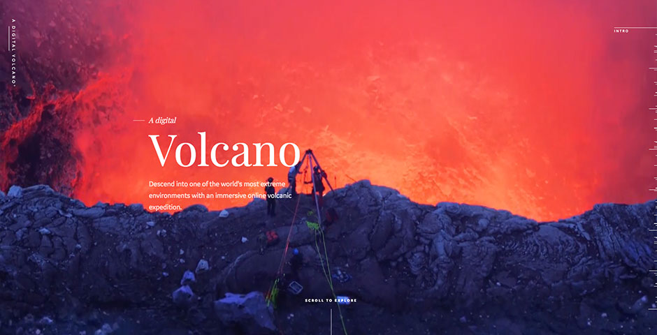 People's Voice - A Digital Volcano
