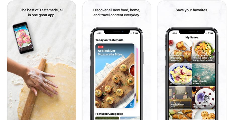 Nominee - Tastemade App