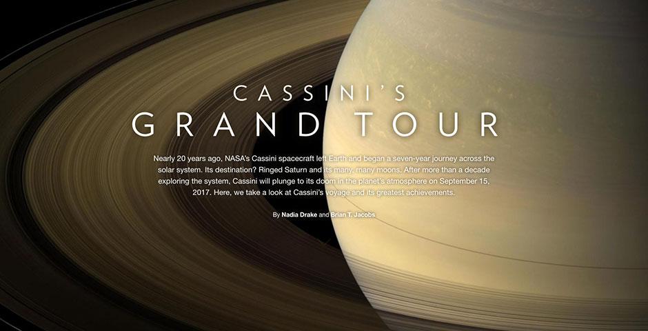 People's Voice - Cassini's Grand Tour