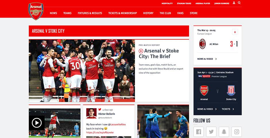 People's Voice - Arsenal Football Club Digital Experience