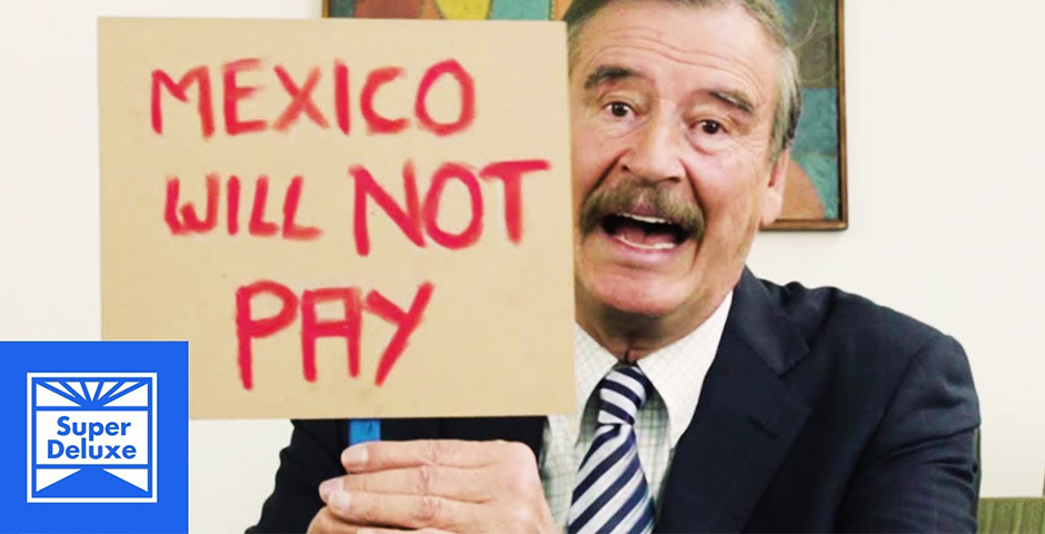 Webby Award Winner - Another Message for Donald Trump from Former Mexican President Vicente Fox
