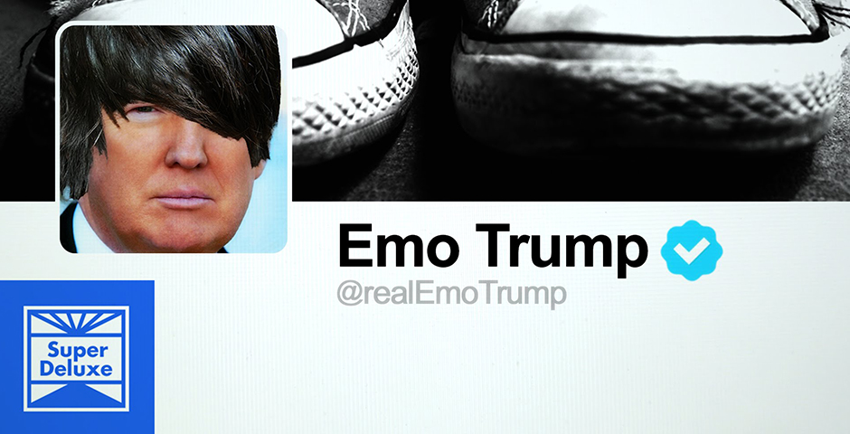 Webby Award Nominee - Donald Trump\'s Tweets As An Early 2000s Emo Song