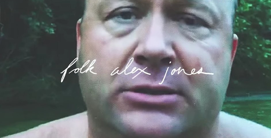 Webby Award Nominee - Alex Jones Rants as an Indie Folk Song