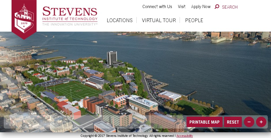 Webby Award Nominee - Stevens Institute of Technology Virtual Tour