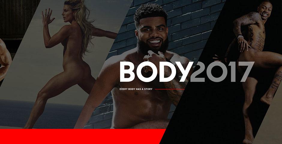 Webby Award Nominee - ESPN Body Issue