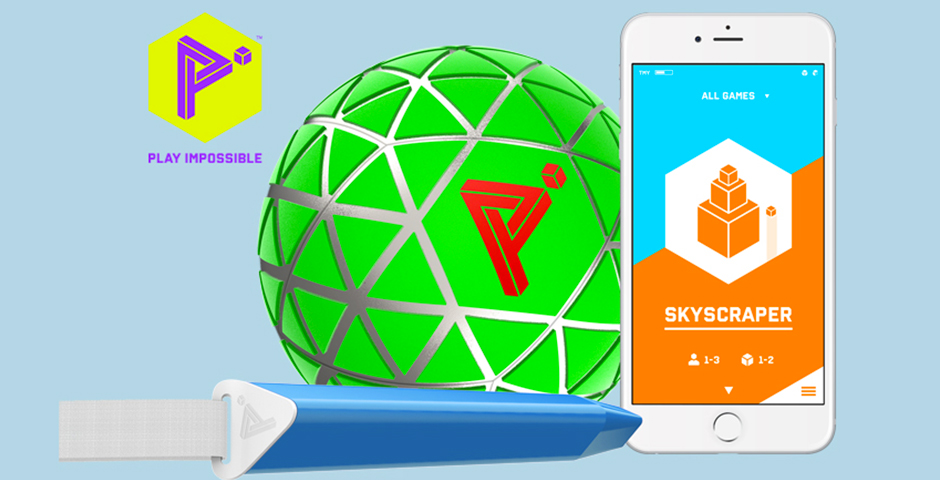 Webby Award Nominee - Play Impossible Gameball