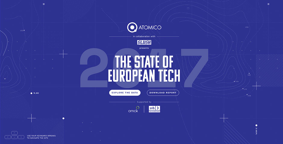 Webby Award Nominee - The State of European Tech 2017