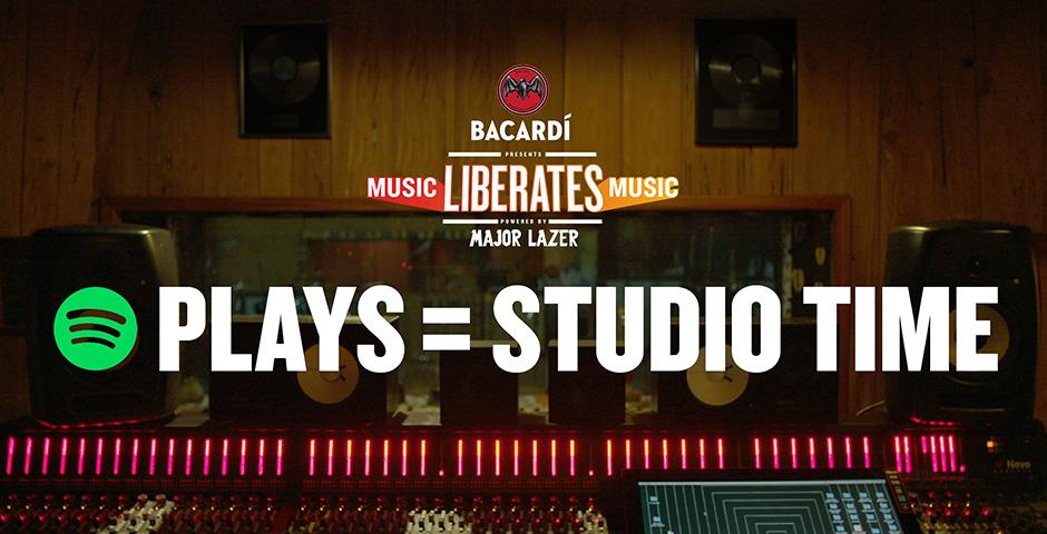 Bacardi – Music Liberates Music