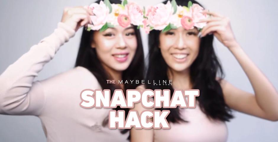 Webby Award Winner - Maybelline Snapchat Hack
