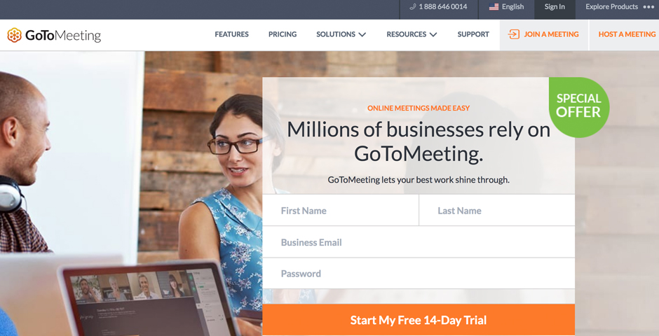 Nominee - GoToMeeting