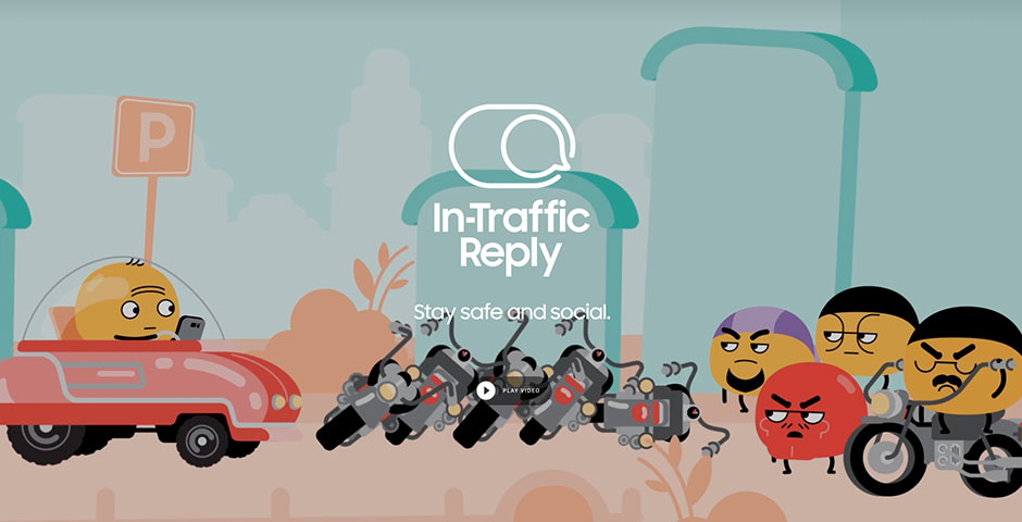 Nominee - In-Traffic Reply – Samsung Benelux