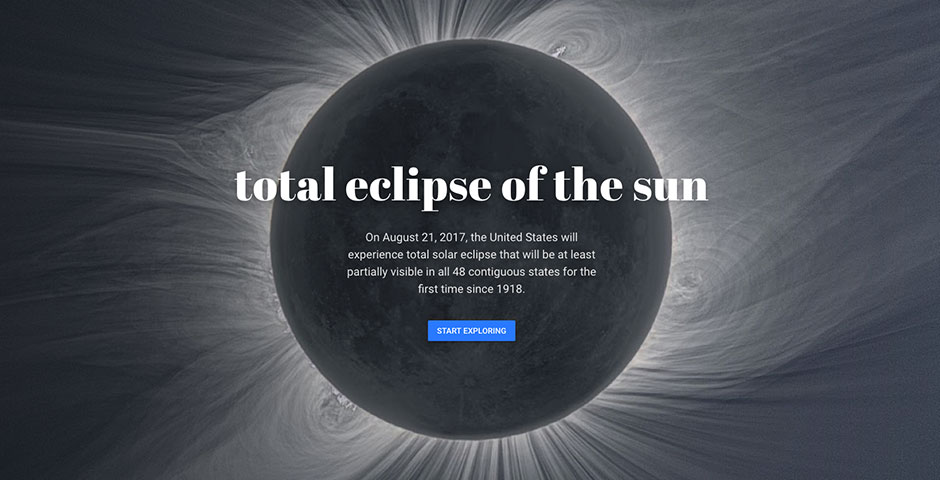 People's Voice - Google Earth Voyager: Total Eclipse of the Sun