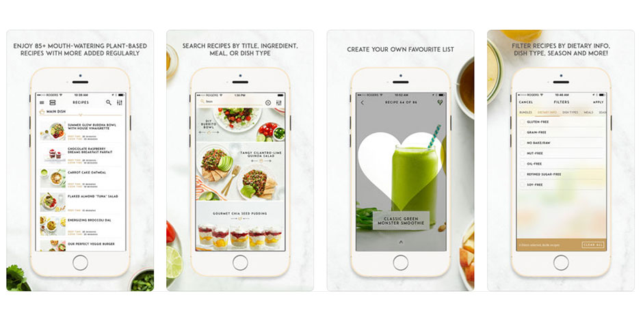 Nominee - The Oh She Glows Plant-Based Recipe App