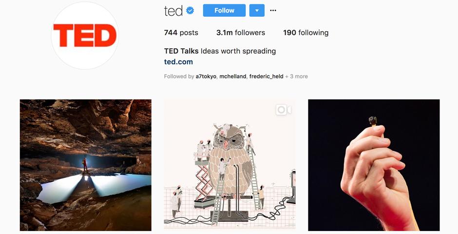 Nominee - TED Instagram