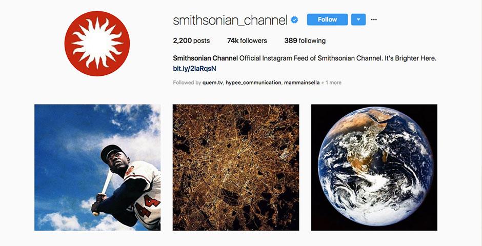 Nominee - Smithsonian Channel  Social Media