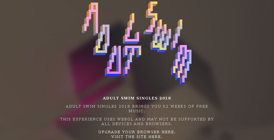 Webby Award Winner - Adult Swim Singles 2017