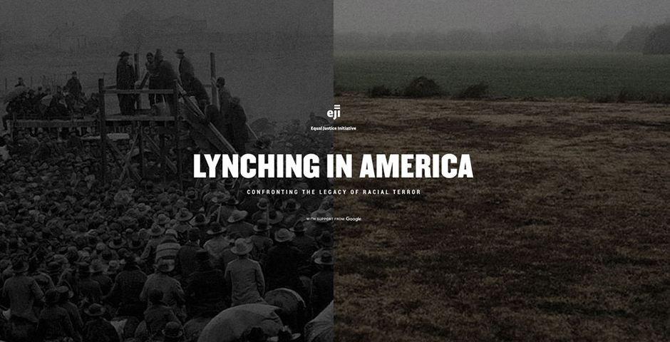2018 Webby Winner - Lynching in America: Confronting the Legacy of Racial Terror