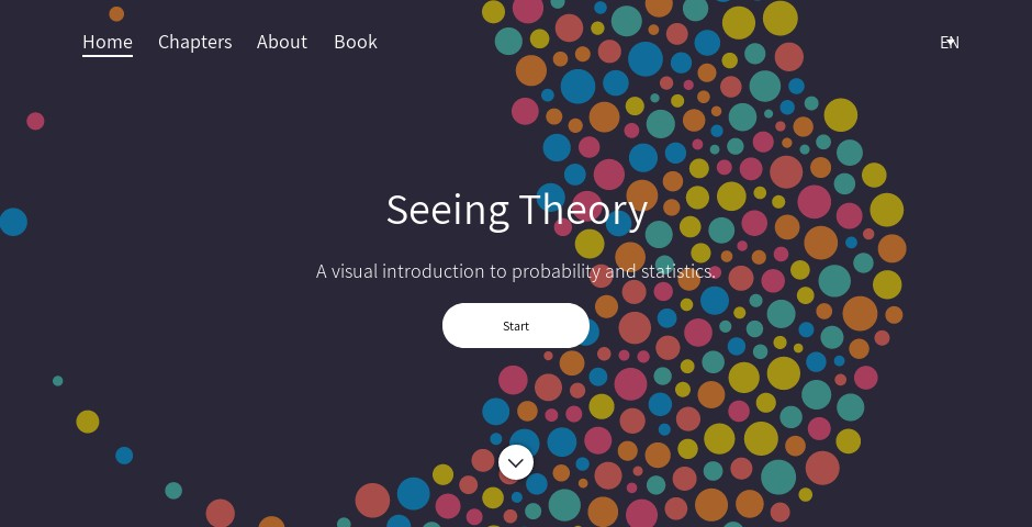 Webby Award Winner - Seeing Theory