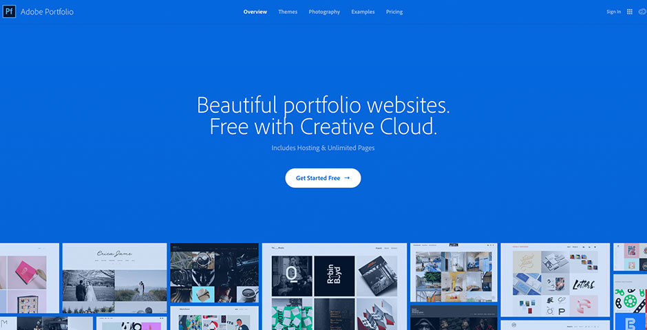 Nominee - Adobe Portfolio