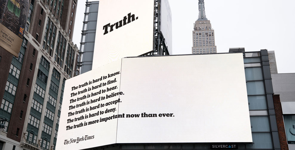 2018 Webby Winner - New York Times - The Truth Is