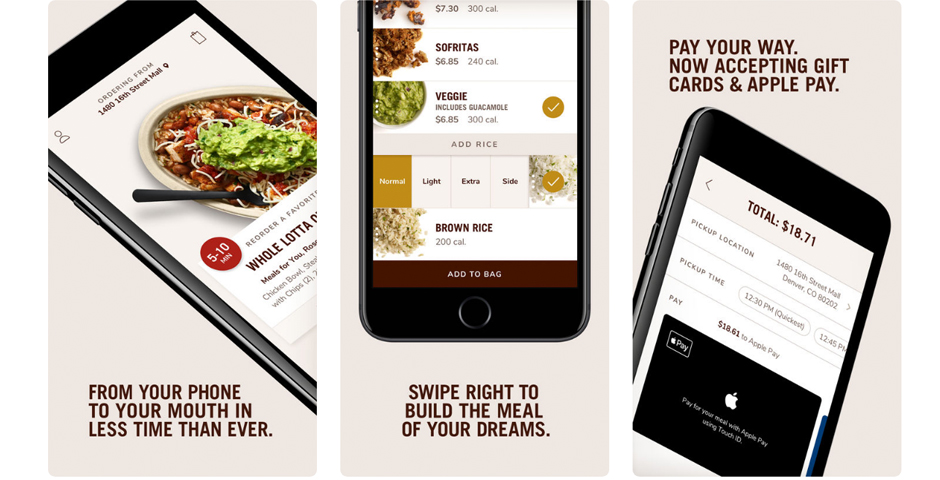 Nominee - Chipotle Mexican Grill iPhone App