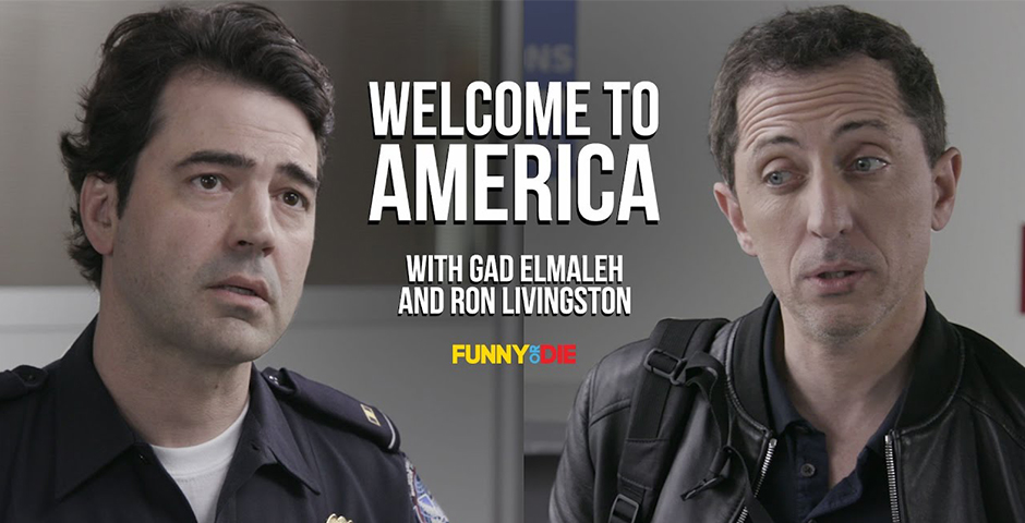 2018 Webby Winner - Welcome to America with Gad Elmaleh and Ron Livingston