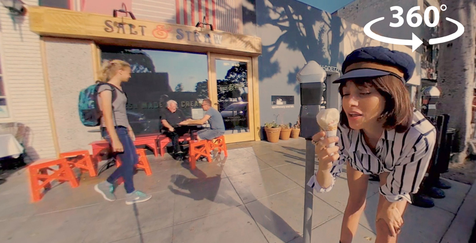 Webby Award Nominee - A 360° Tour Of LA With Taylor LaShae | VR 4K Video