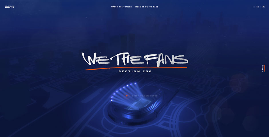 Webby Award Winner - We The Fans