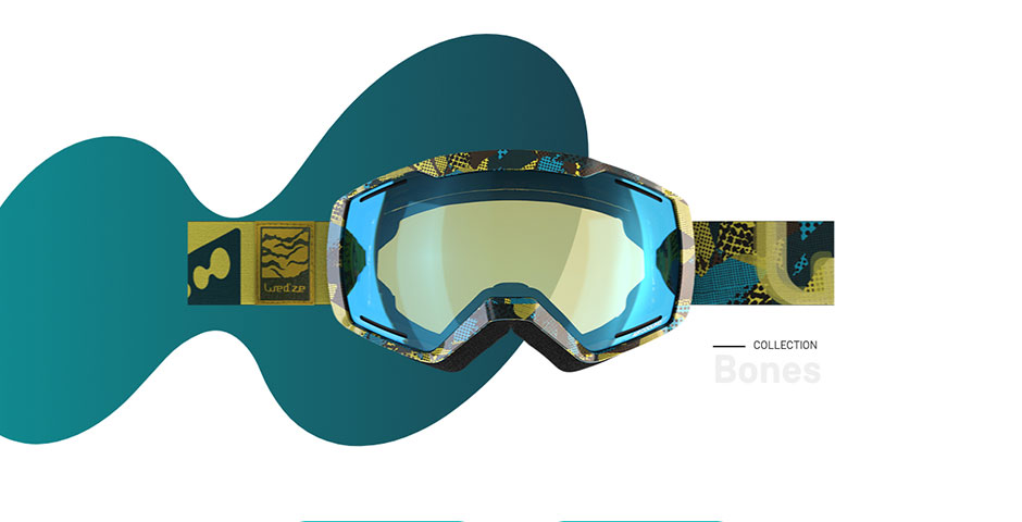 Nominee - WED'ZE Ski goggles collection