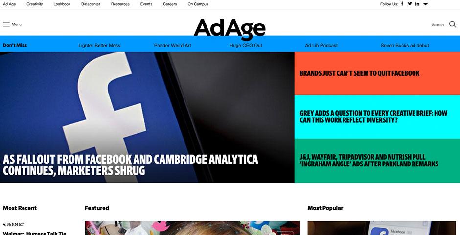 Nominee - Ad Age