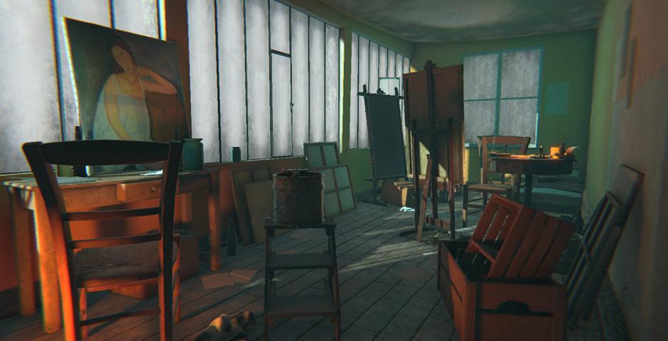Nominee - Modigliani VR: The Ochre Atelier