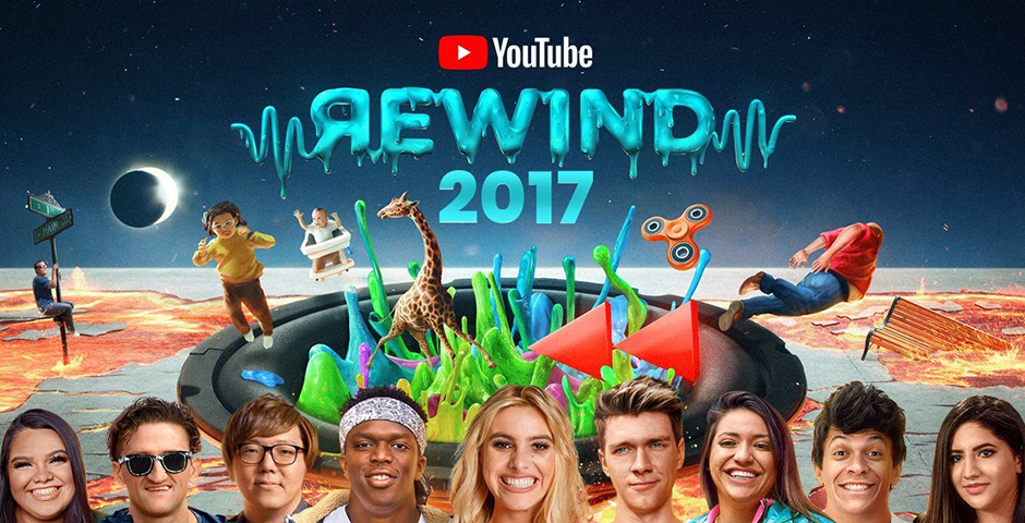 Nominee - YouTube Rewind: The Shape of 2017