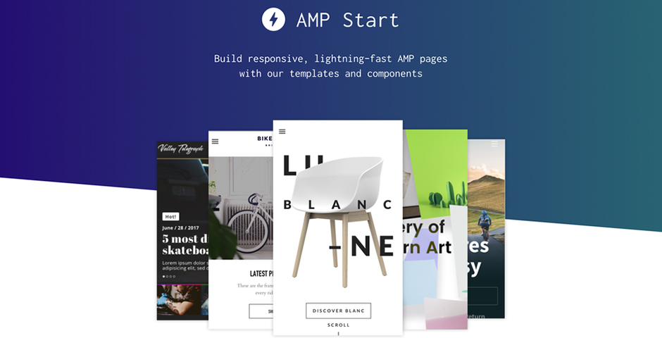 Webby Award Nominee - AMP Start