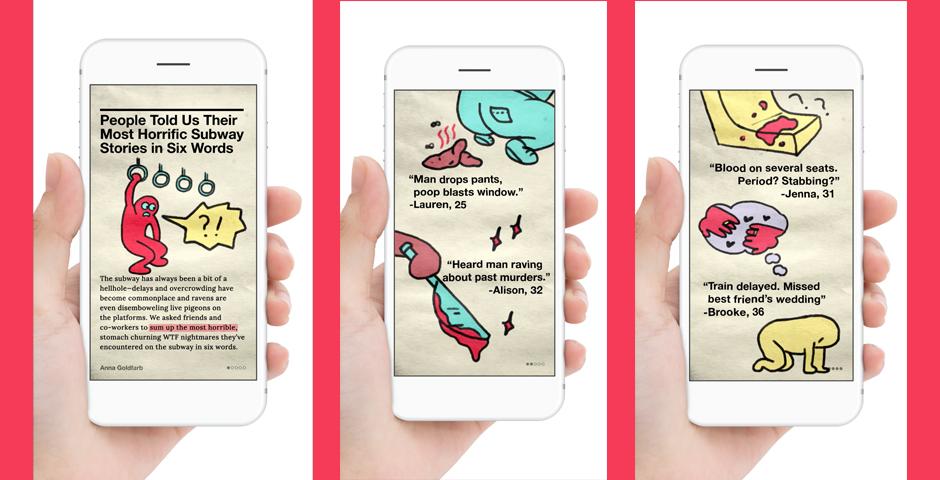 Webby Award Winner - VICE Snapchat