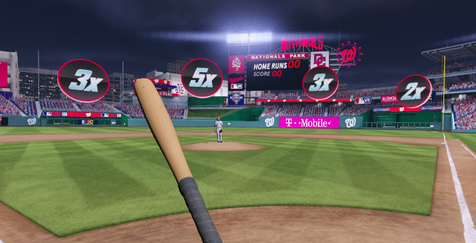 Webby Award Nominee - MLB Home Run Derby VR
