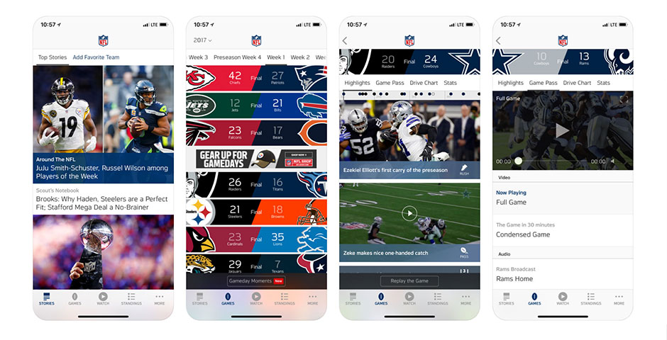 Nominee - NFL Mobile App